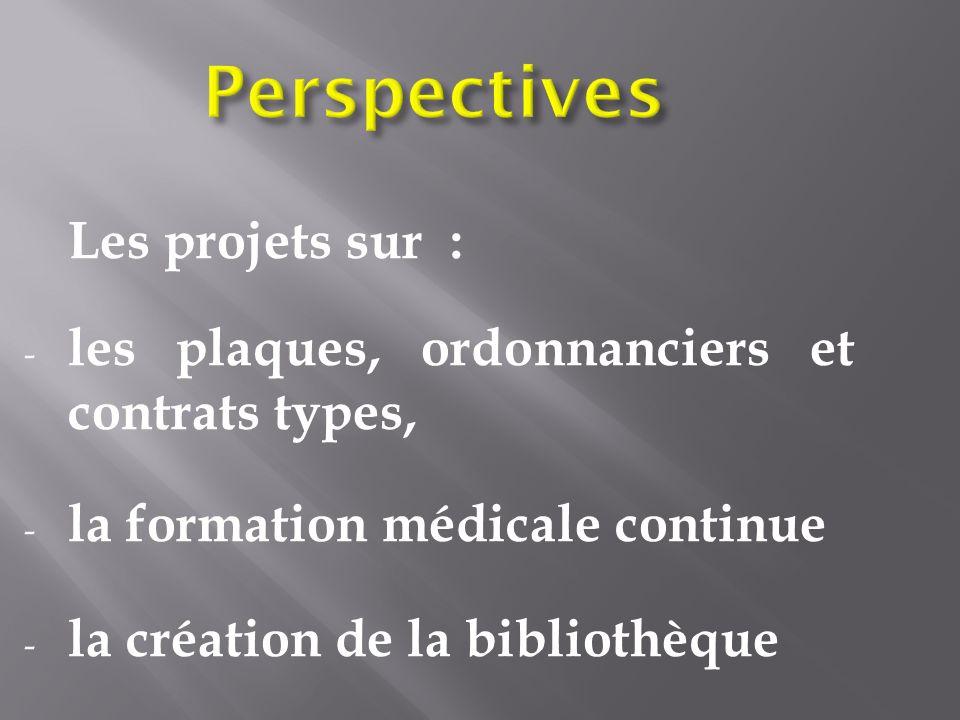 Perspectives Les projets sur :