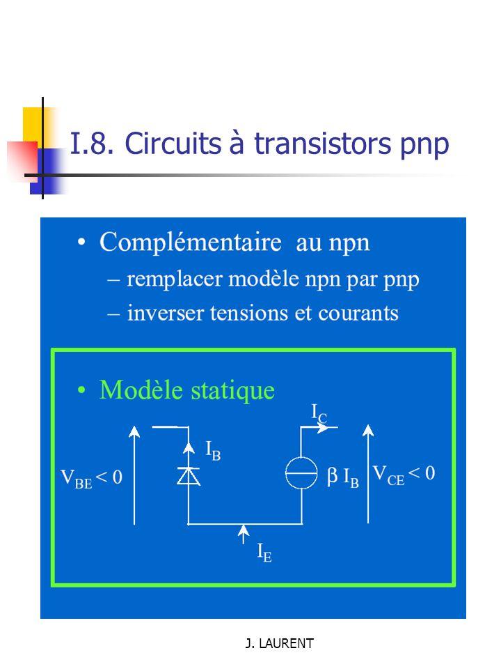 I.8. Circuits à transistors pnp