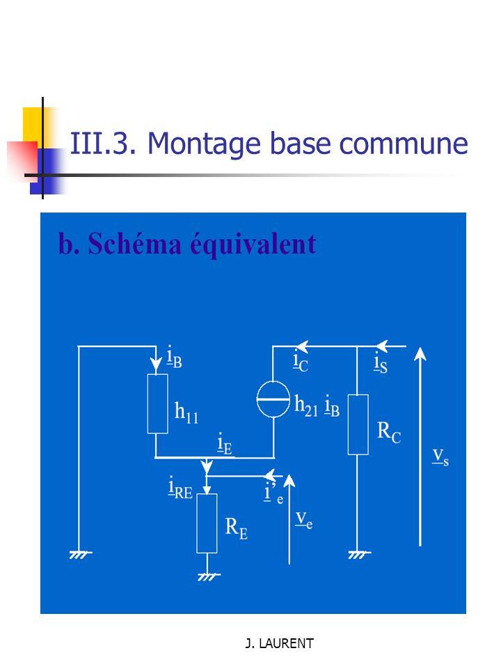 III.3. Montage base commune