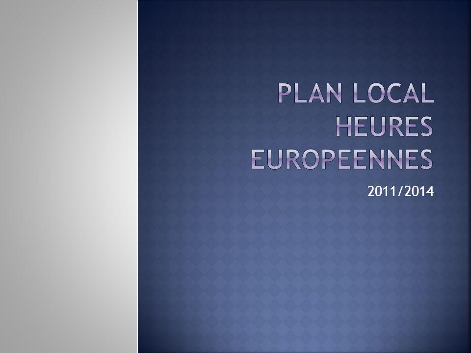 PLAN LOCAL HEURES EUROPEENNES