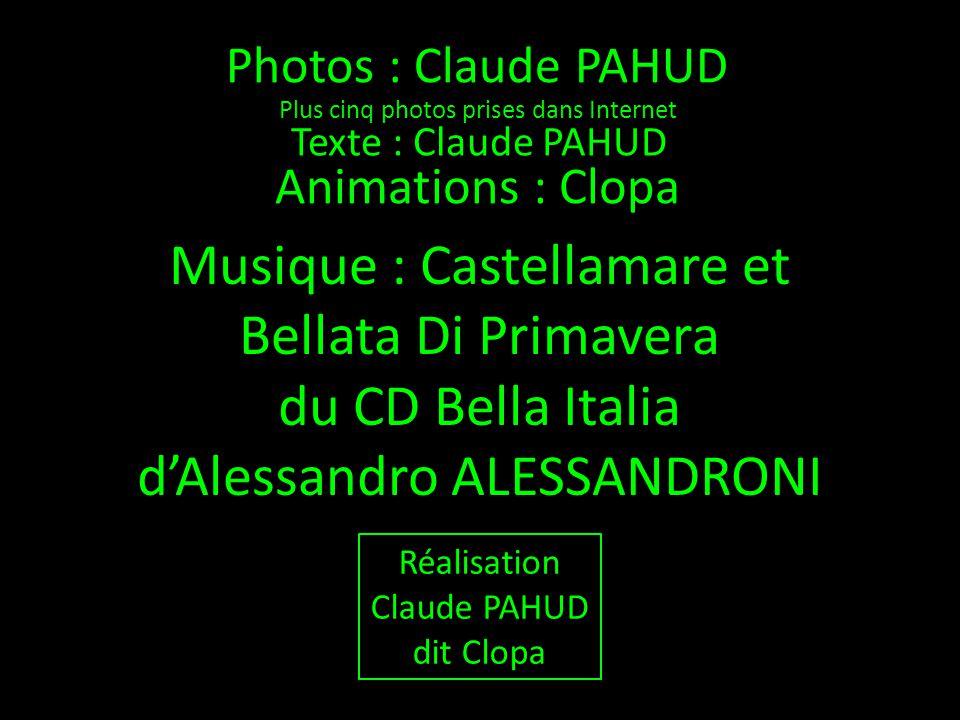 Musique : Castellamare et Bellata Di Primavera du CD Bella Italia