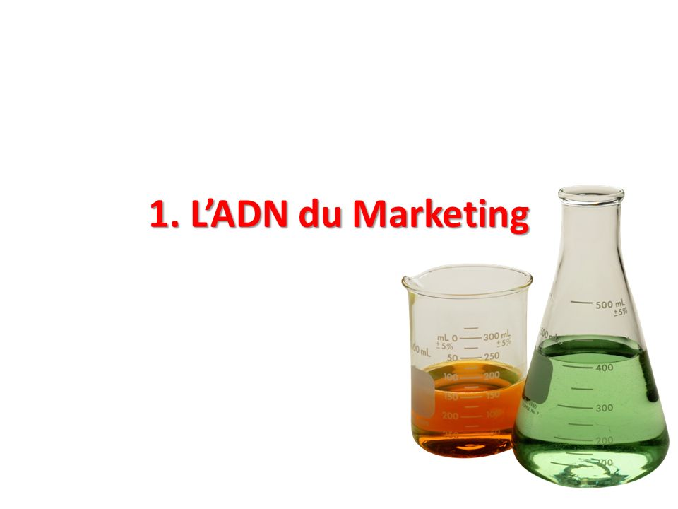 1. L'ADN du Marketing