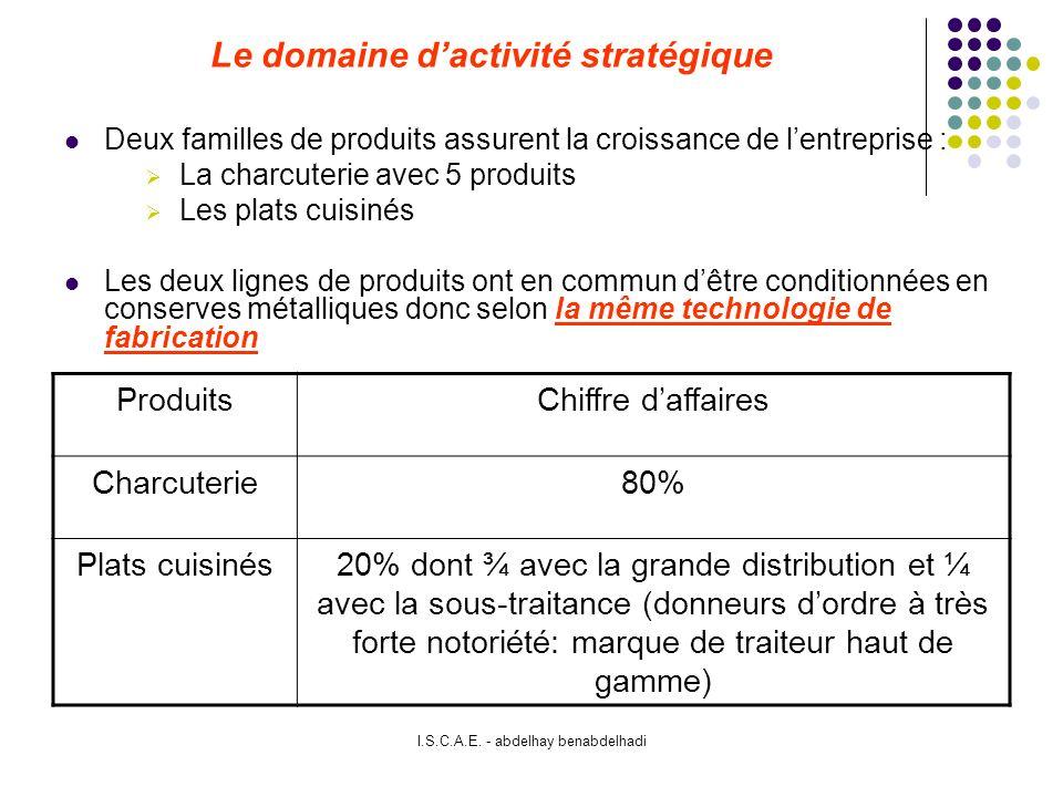Le domaine d'activité stratégique