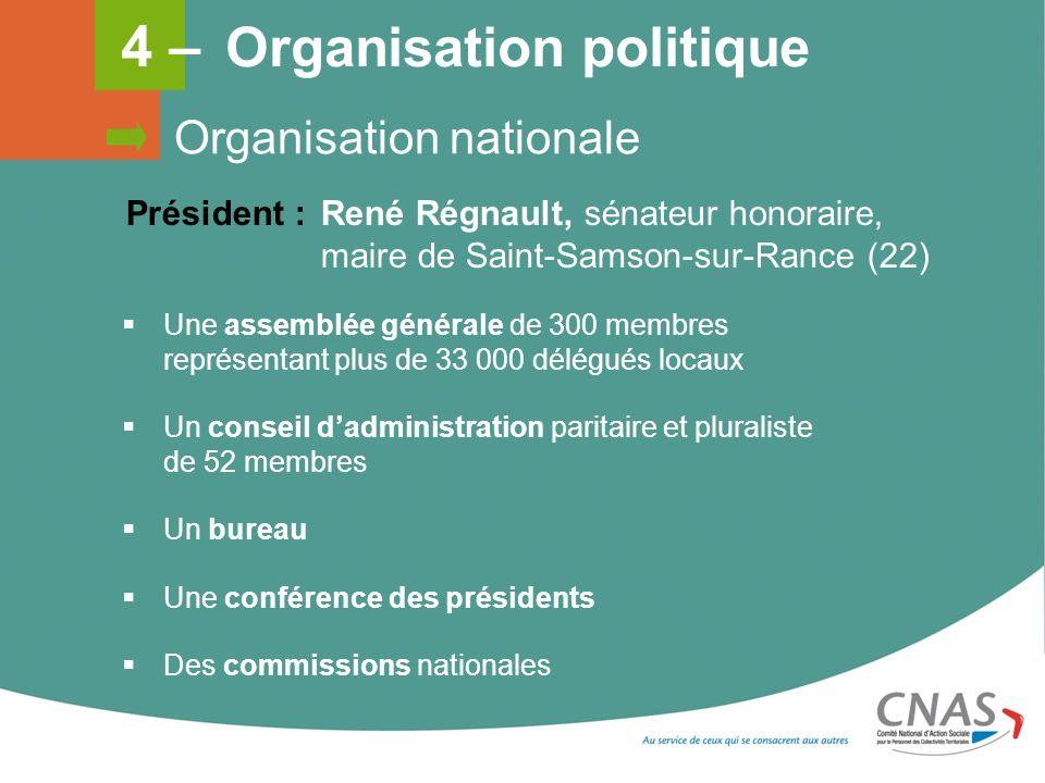 4 – Organisation politique