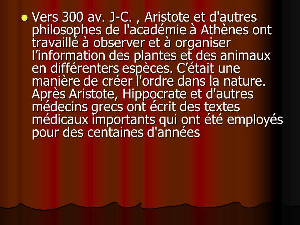 Vers 300 av.J-C.