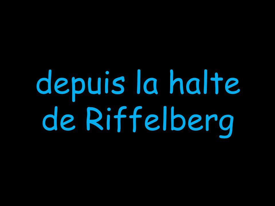 depuis la halte de Riffelberg