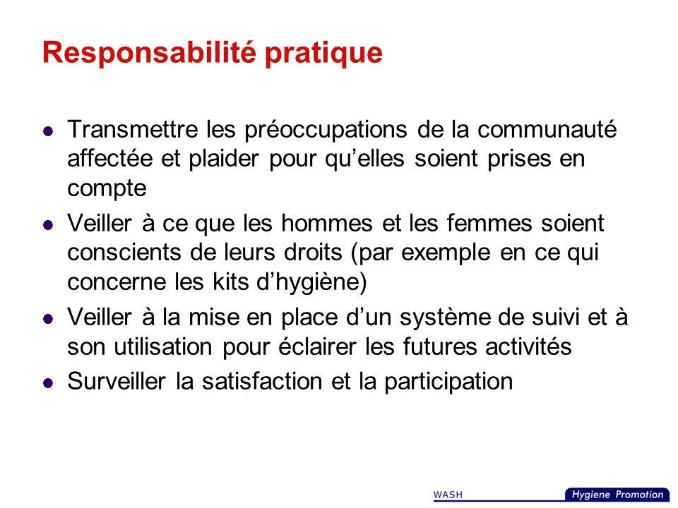 Responsabilité pratique