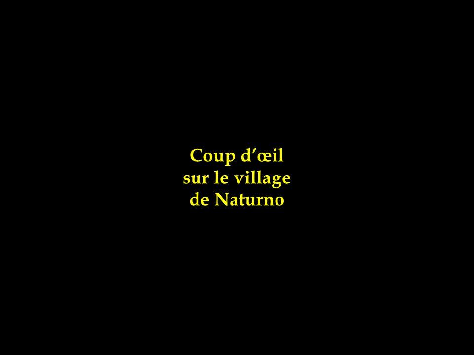 Coup d'œil sur le village de Naturno