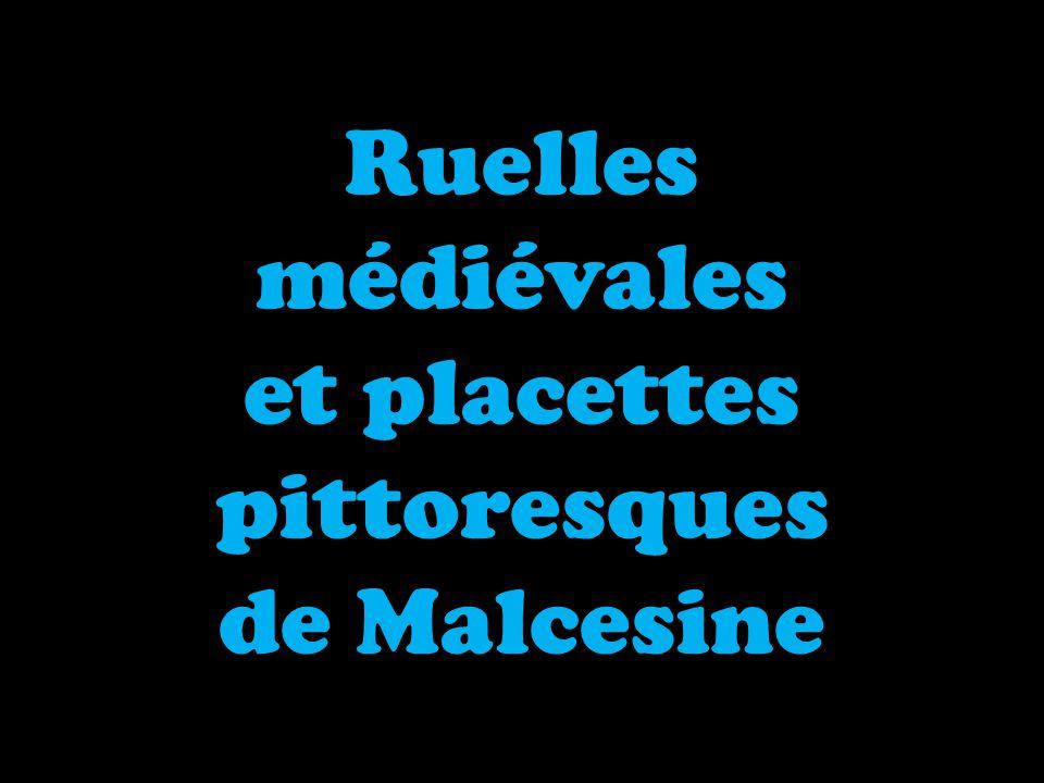 Ruelles médiévales et placettes pittoresques de Malcesine