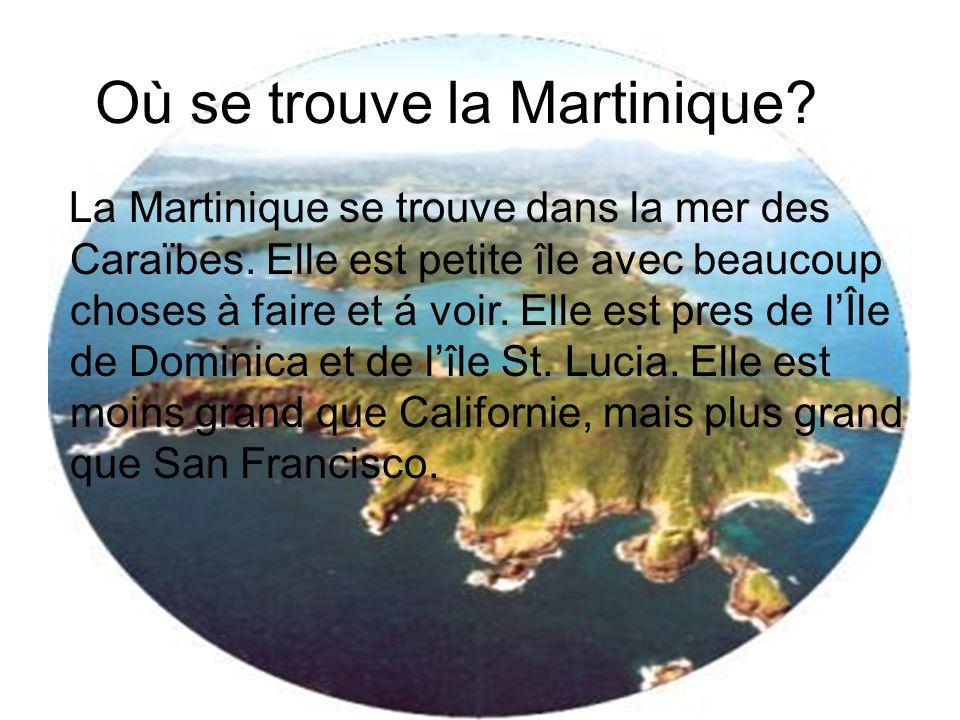 Où se trouve la Martinique