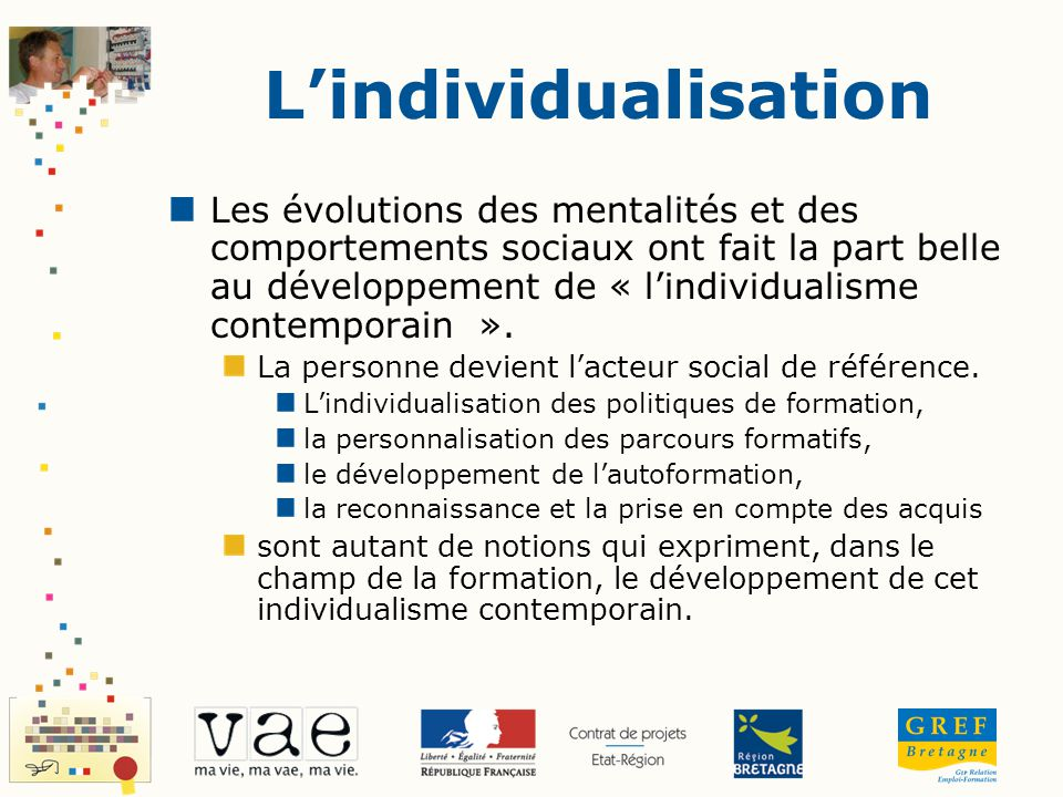 L'individualisation