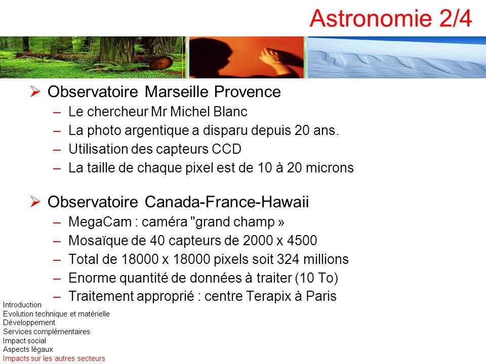 Astronomie 2/4 Observatoire Marseille Provence