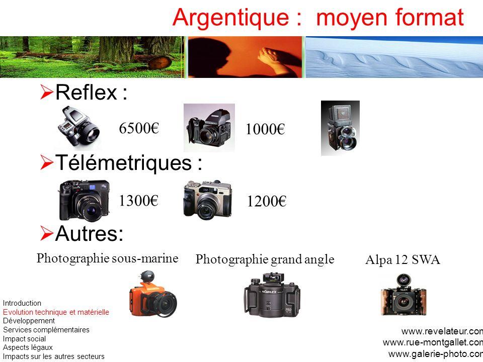 Argentique : moyen format