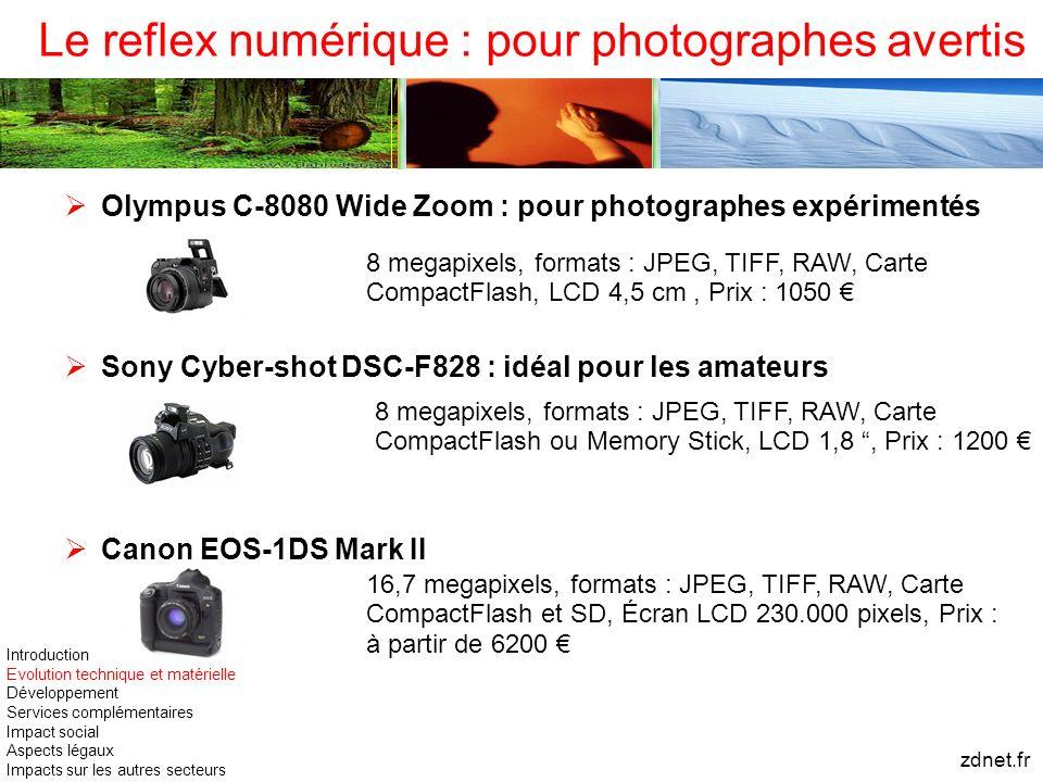 Le reflex numérique : pour photographes avertis