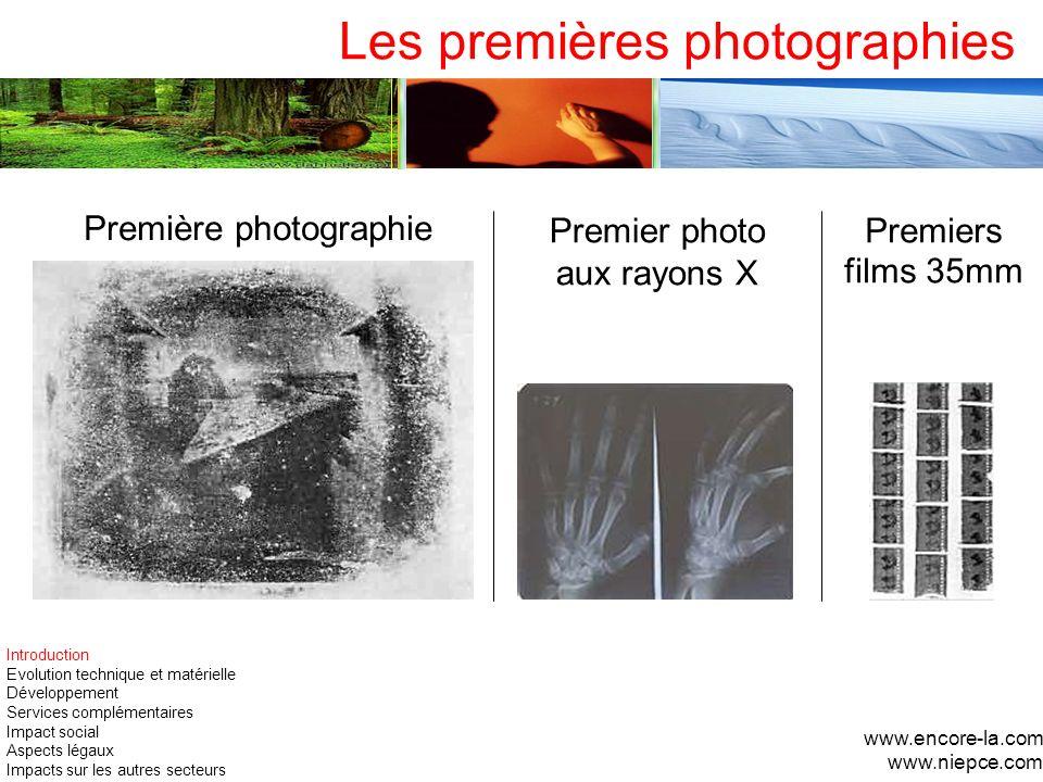 Les premières photographies