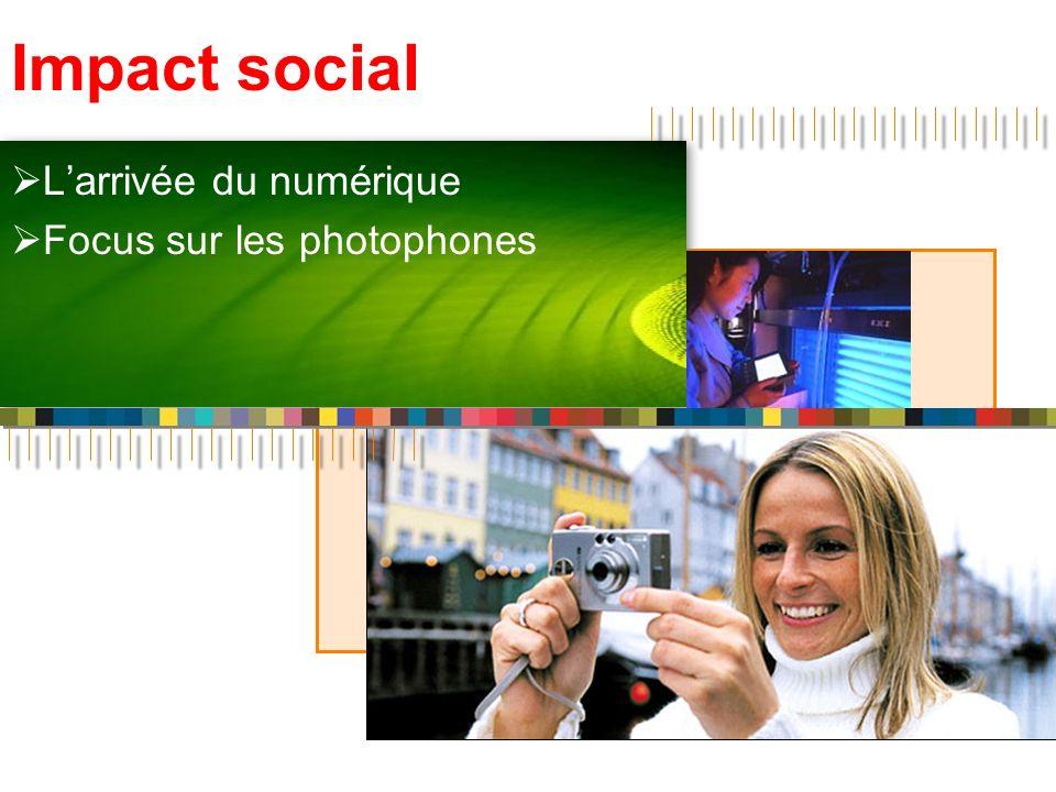 L'arrivée du numérique Focus sur les photophones