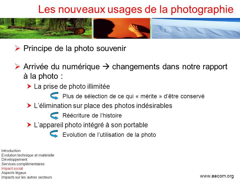Les nouveaux usages de la photographie