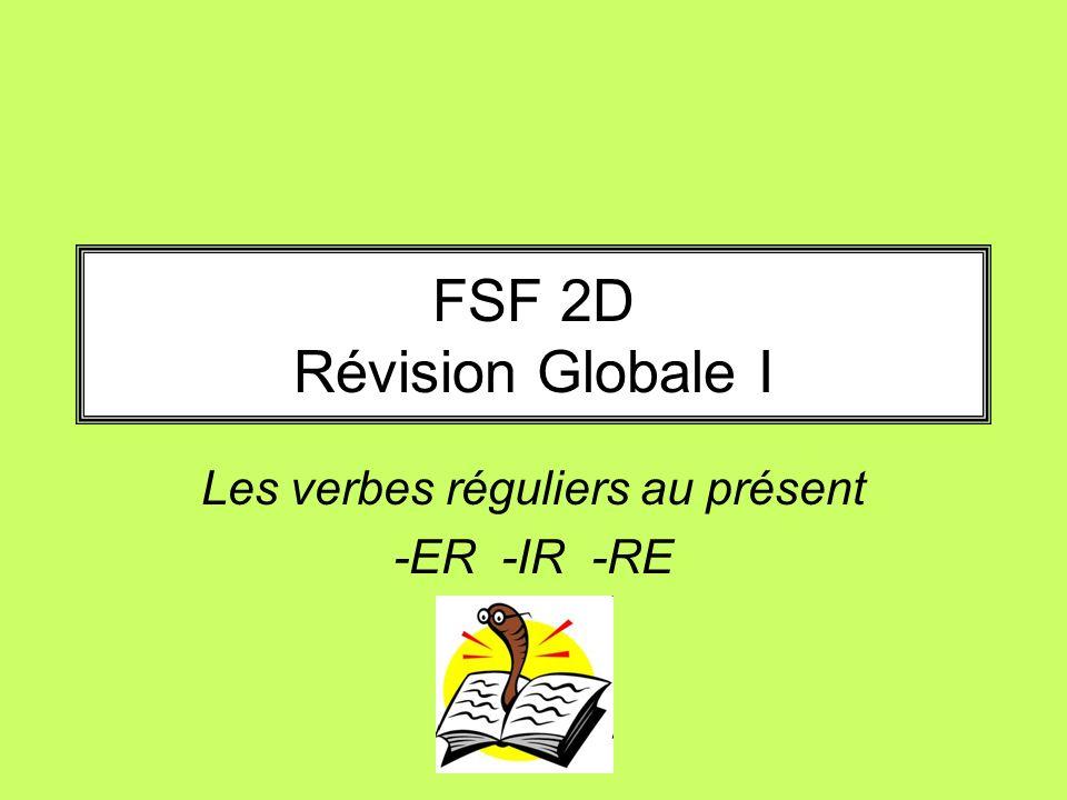 FSF 2D Révision Globale I