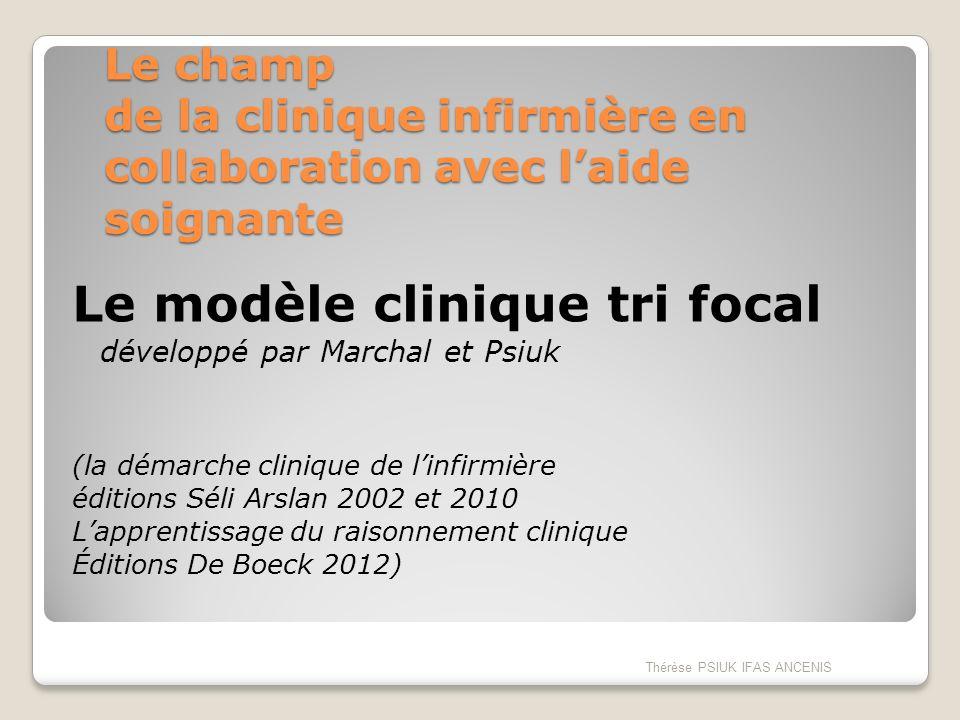 Le modèle clinique tri focal développé par Marchal et Psiuk
