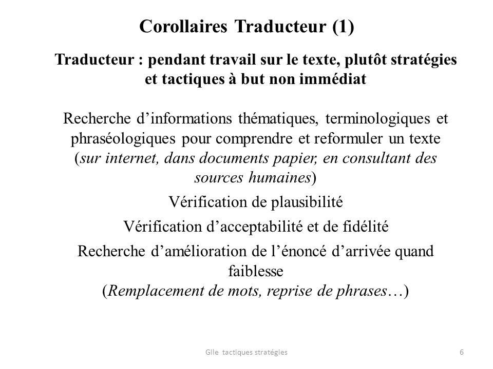 Corollaires Traducteur (1)