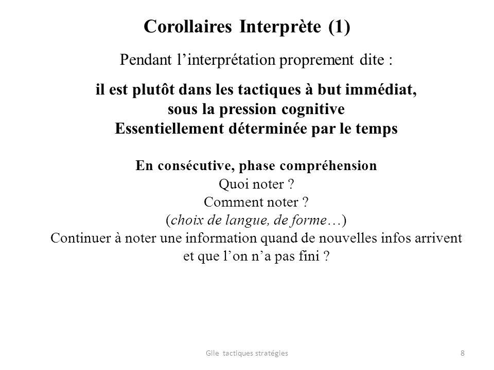 Corollaires Interprète (1)