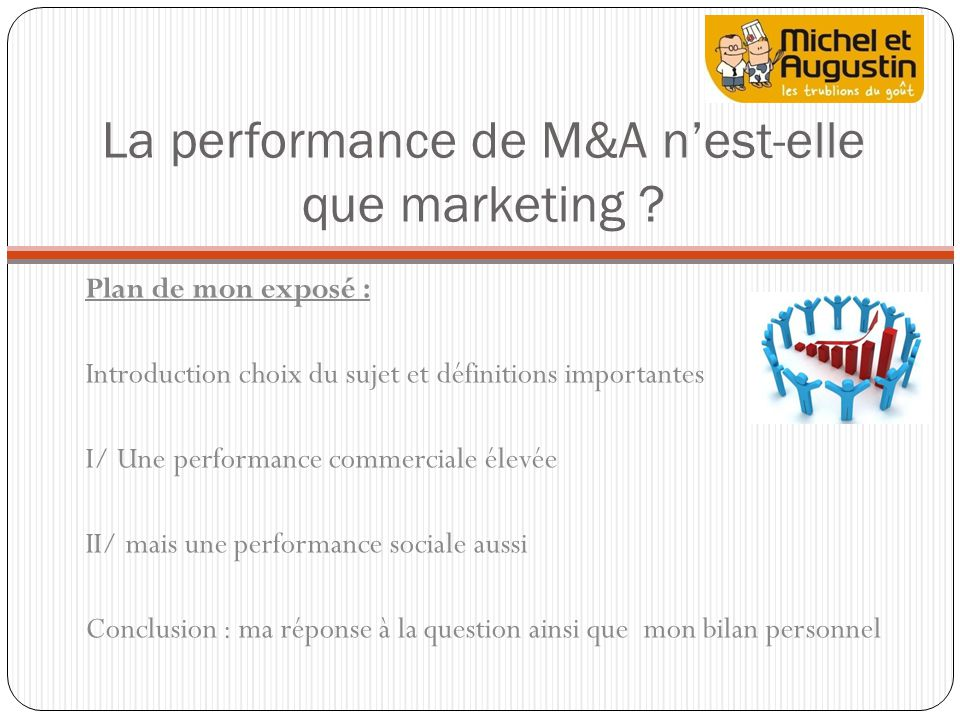 La performance de M&A n'est-elle que marketing