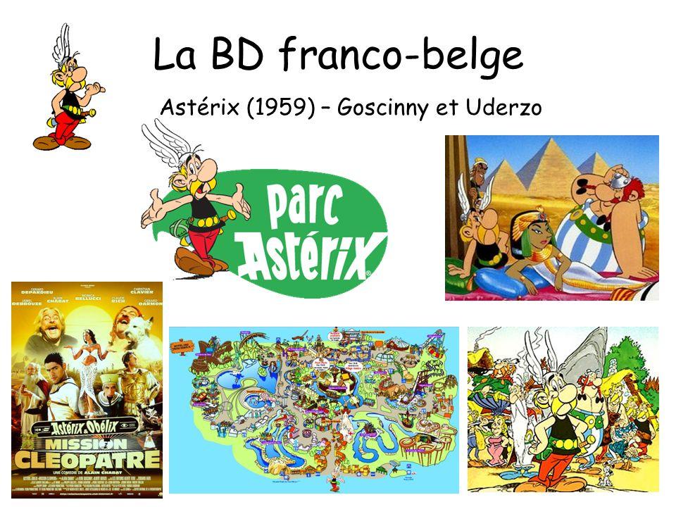 La BD franco-belge Astérix (1959) – Goscinny et Uderzo