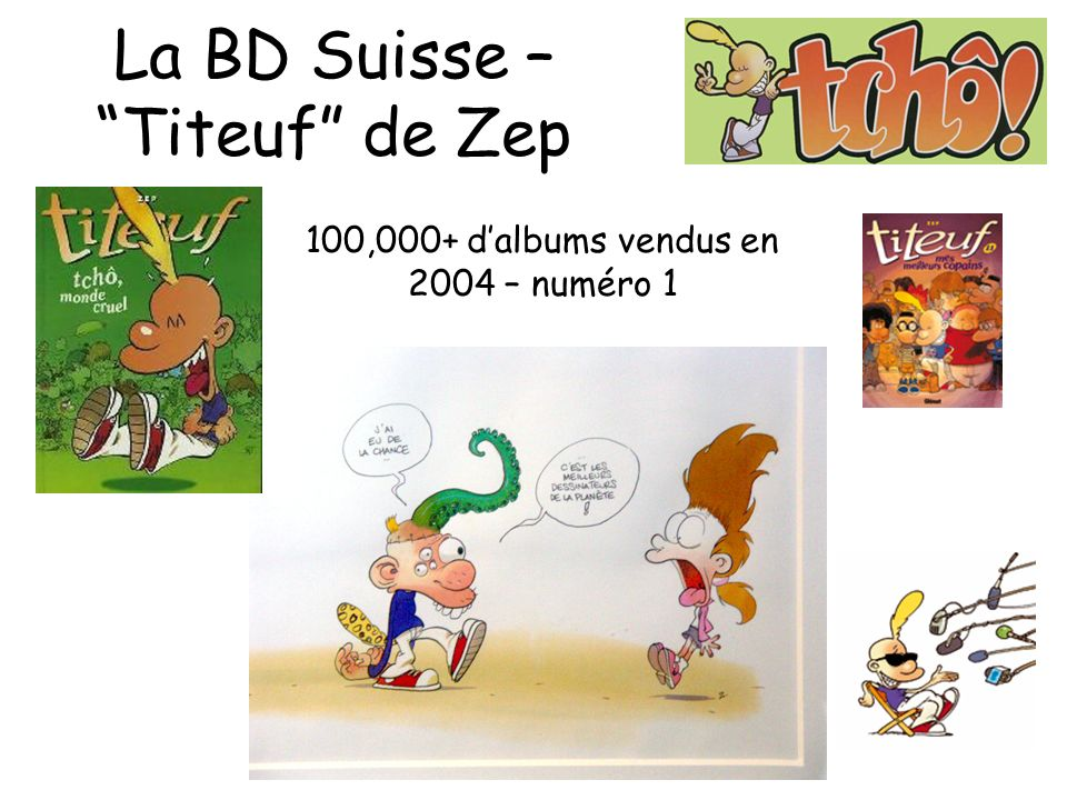 La BD Suisse – Titeuf de Zep
