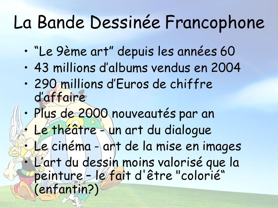 La Bande Dessinée Francophone