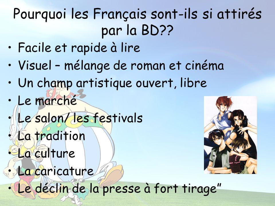 Pourquoi les Français sont-ils si attirés par la BD