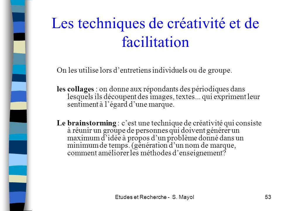 Les techniques de créativité et de facilitation