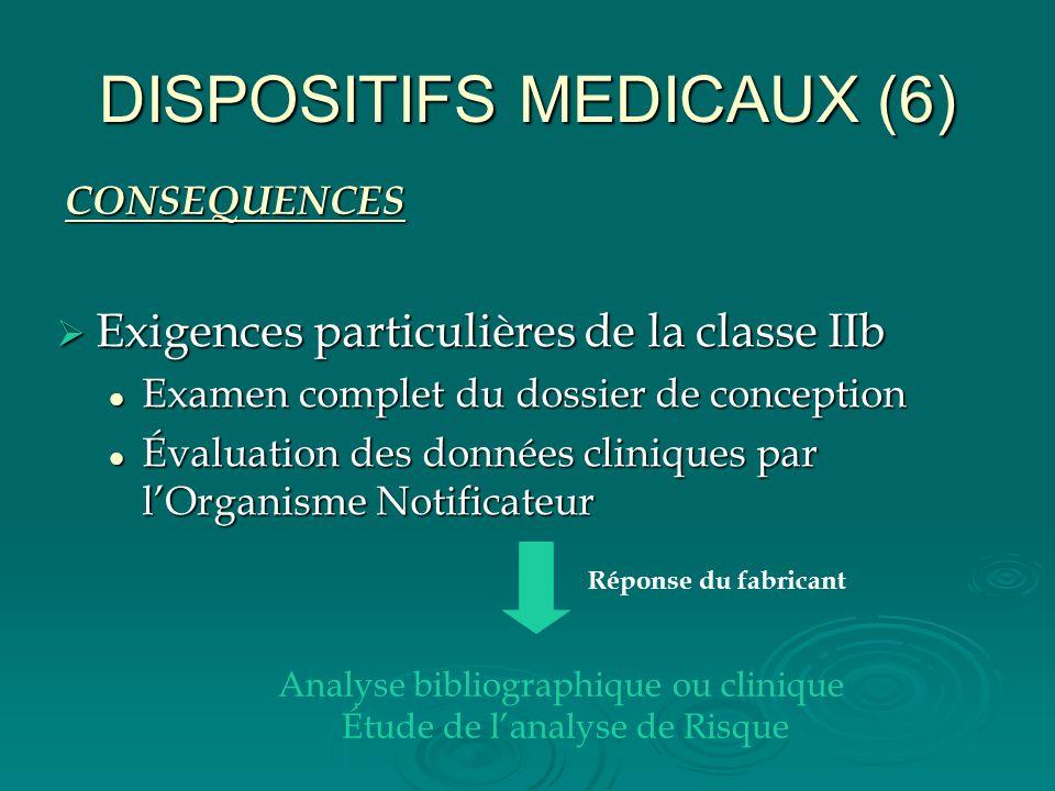 DISPOSITIFS MEDICAUX (6)