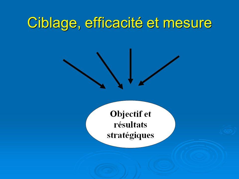 Ciblage, efficacité et mesure