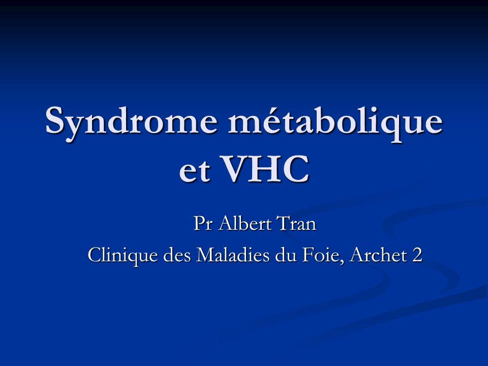 Syndrome métabolique et VHC