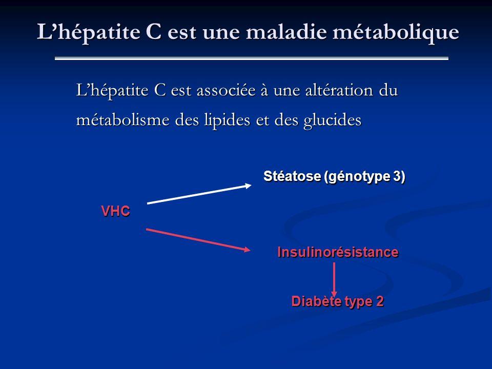 L'hépatite C est une maladie métabolique