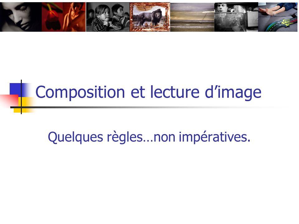 Composition et lecture d'image