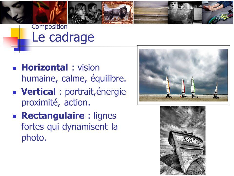 Composition Le cadrage