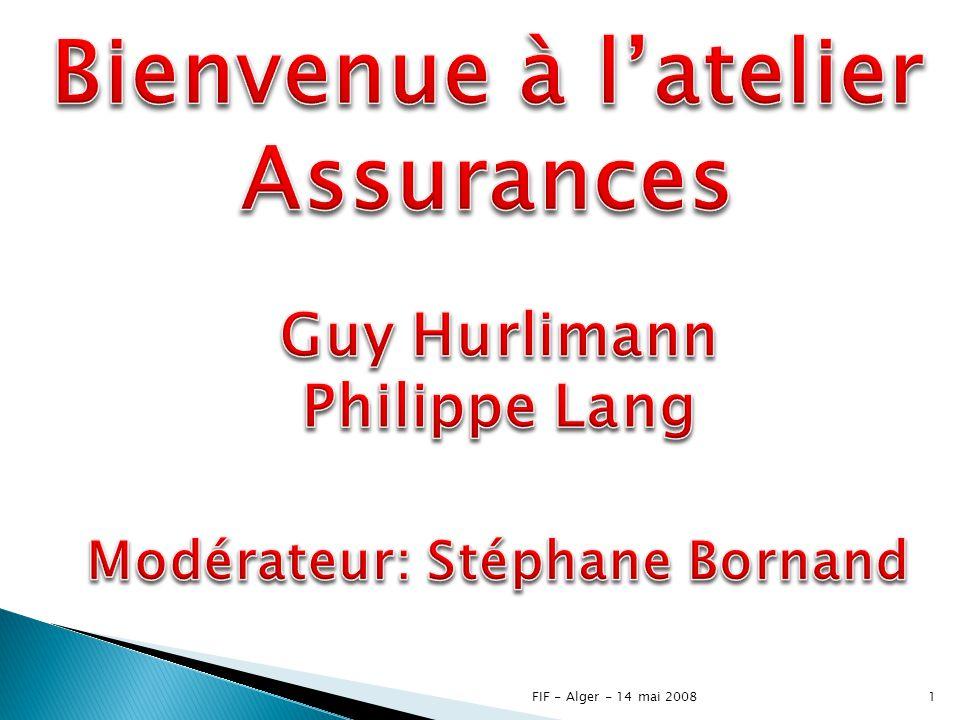 Modérateur: Stéphane Bornand