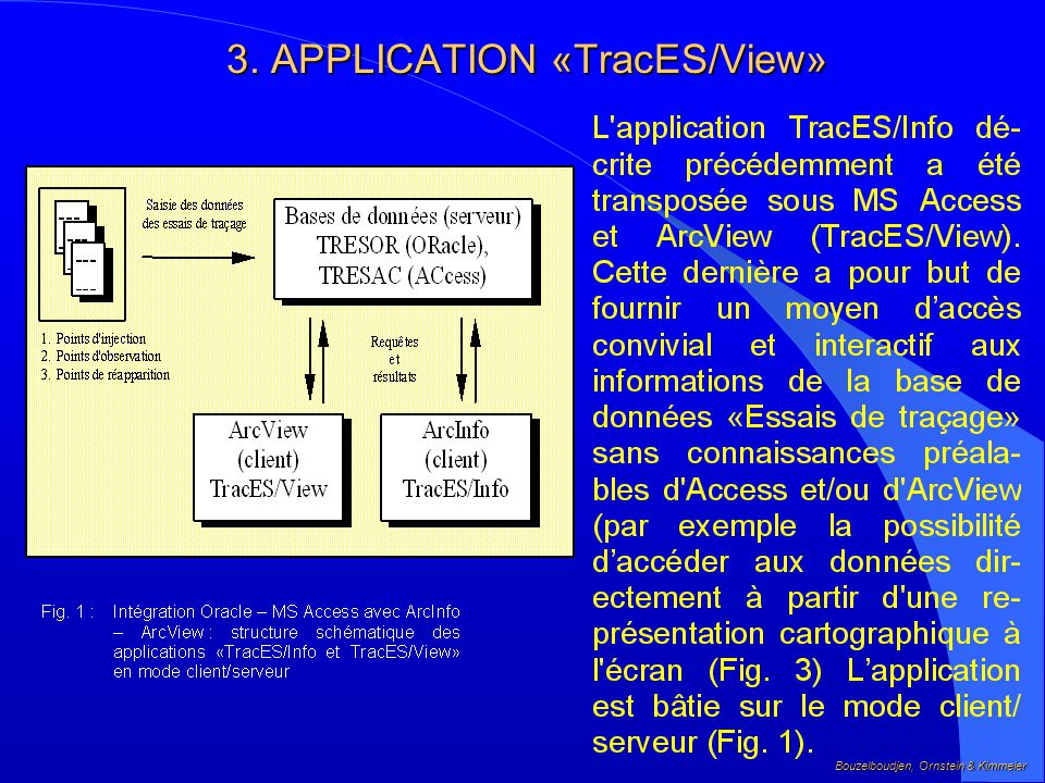 3. APPLICATION «TracES/View»