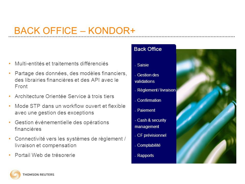 BACK OFFICE – KONDOR+ Back Office