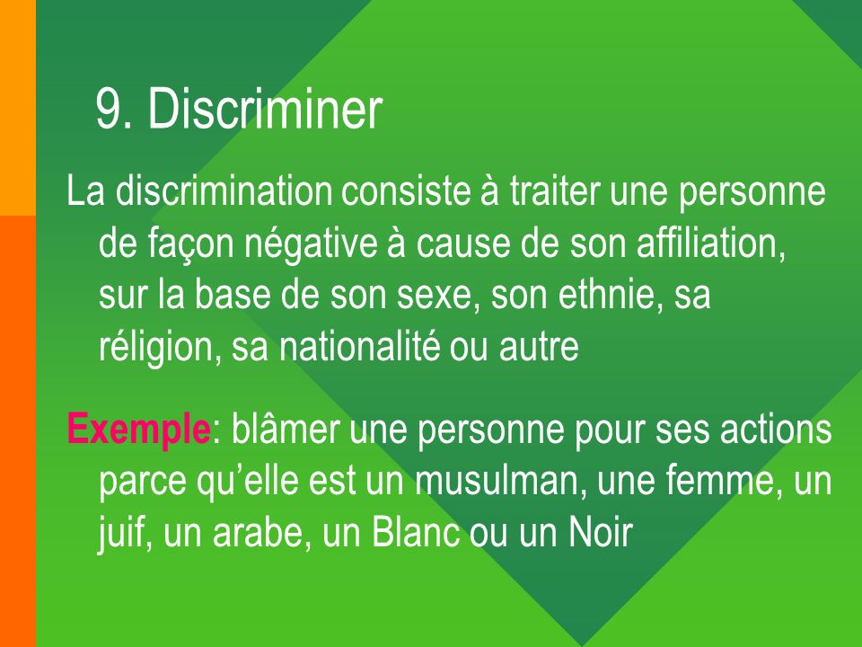 9. Discriminer