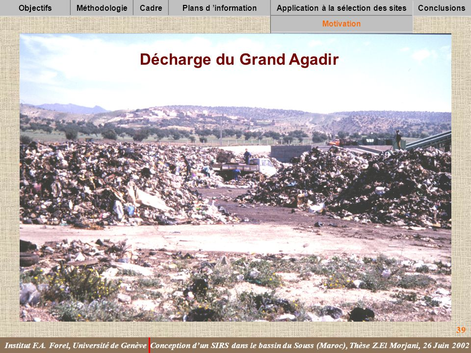 Décharge du Grand Agadir