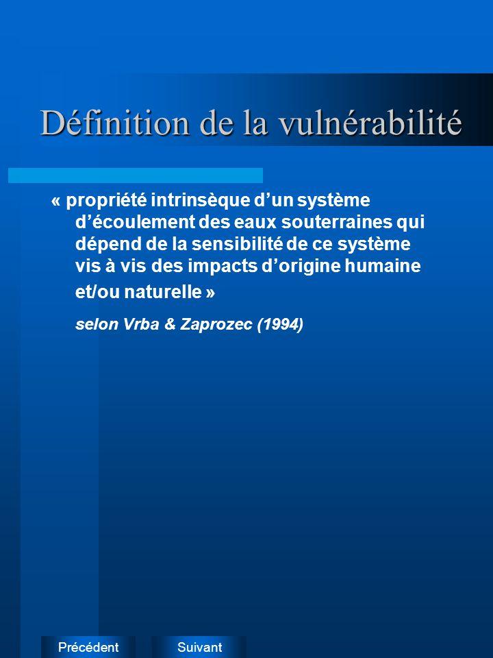 Définition de la vulnérabilité