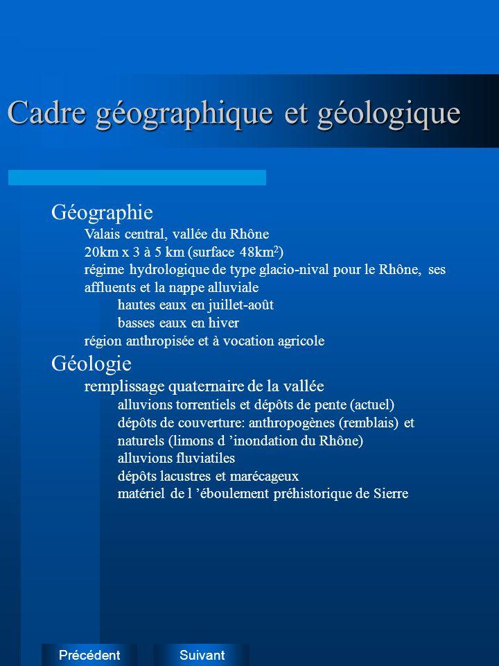 Cadre géographique et géologique