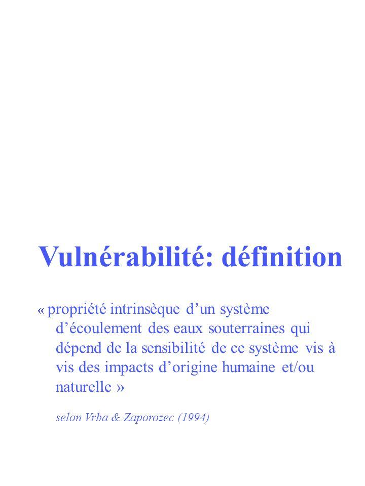 Vulnérabilité: définition