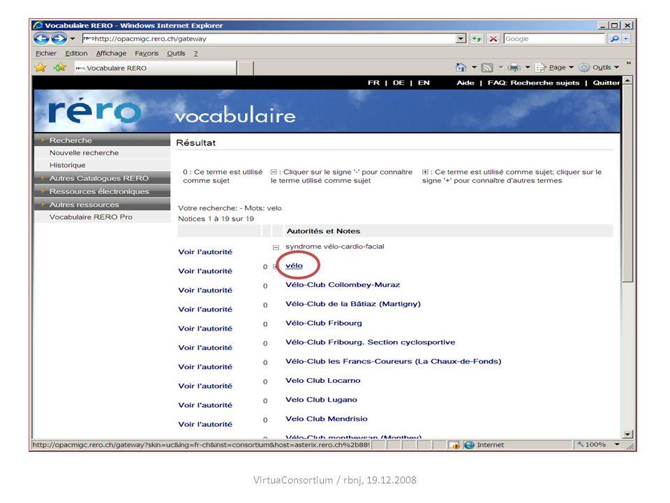 VirtuaConsortium / rbnj, 19.12.2008