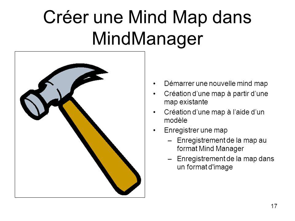 Créer une Mind Map dans MindManager