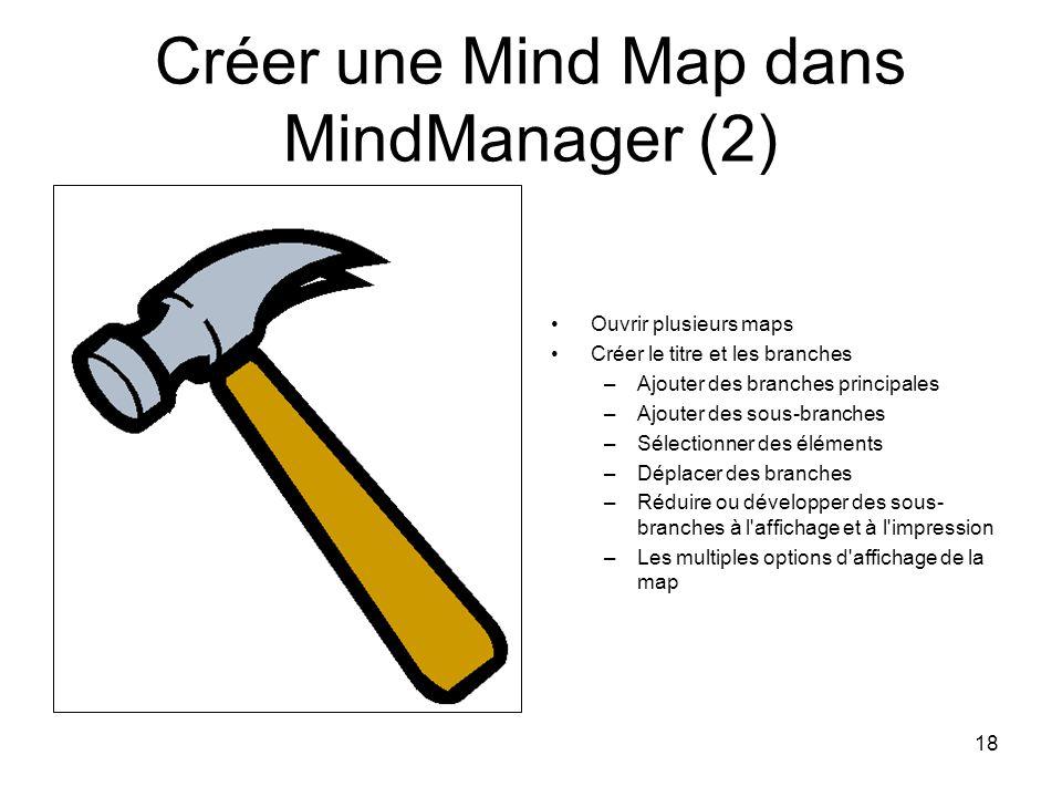 Créer une Mind Map dans MindManager (2)