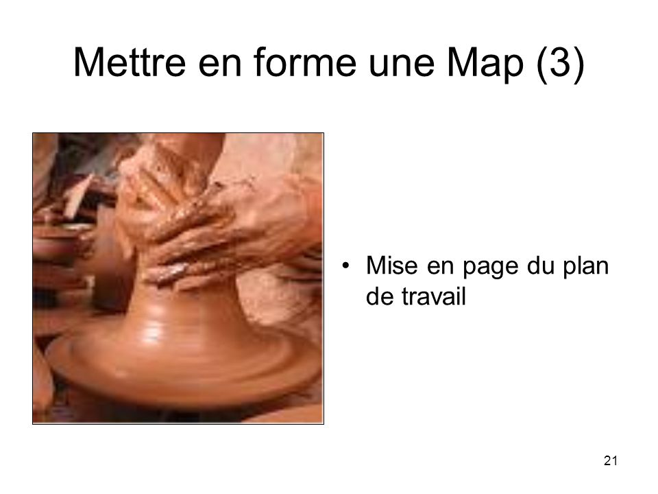 Mettre en forme une Map (3)