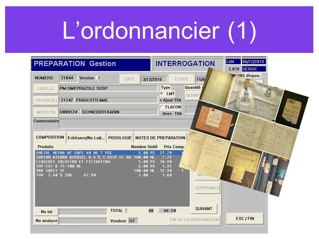 L'ordonnancier (1)